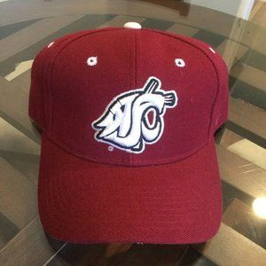 NCAA Zephyr Washington State Cougars Mens Freeway Relaxed Hat Adjustable Team Color